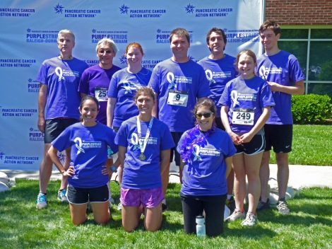 Der Lab team Purple Stride 2014