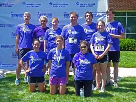 Der Lab team Purple Stride 2014