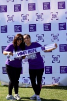 Dina and Sehrish of the Cox and Der Labs waging hope against pancreatic cancer