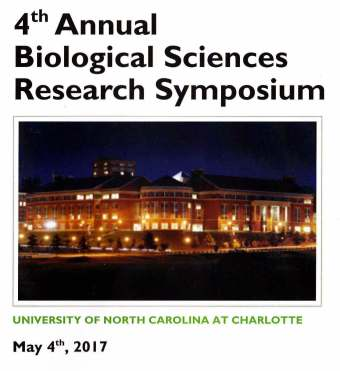 UNCC symposium cover page