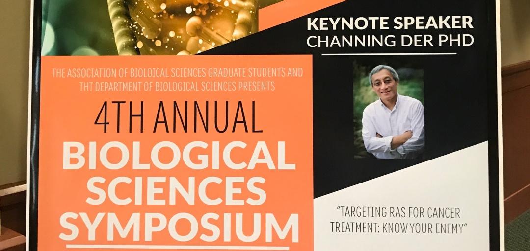 Dr  Der Keynote Speaker at UNC Charlotte 4th Annual Biological